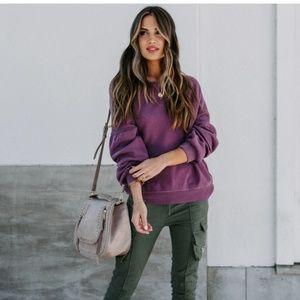 BRYGID Cotton Pullover
